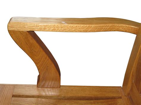 library bench library bench from white oak