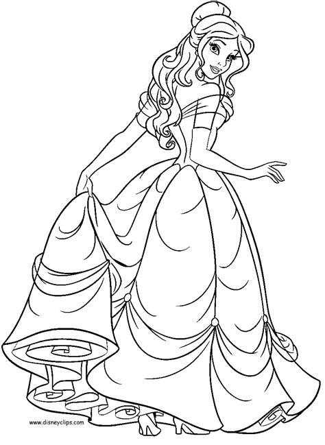 La Belle et la Bête #56 (Films d'animation) – Coloriages à