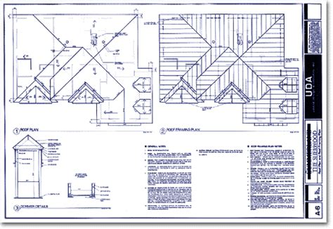 Typical Floor Framing Plan by Uda Sample Construction Documents