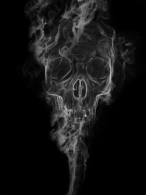 Find To Smoke With Skull In Smoke By Toinouandre On Deviantart
