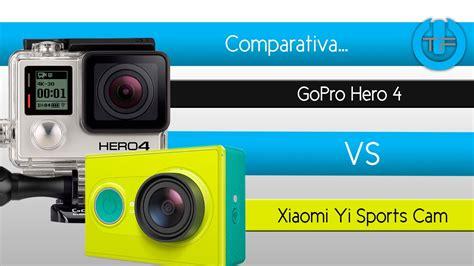 Xiaomi Vs Gopro comparativa gopro 4 vs xiaomi yi sports