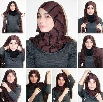 tutorial kerudung monochrome pasmina tutorial hijab monochrome pashmina kumpulan contoh