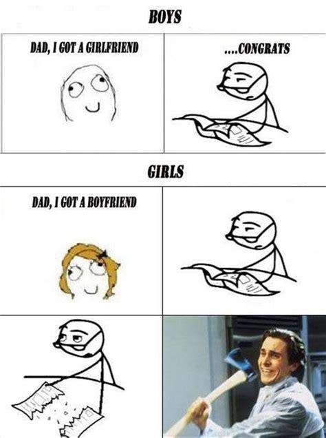 Memes About Boys - boys vs girls funny rage comic dump a day