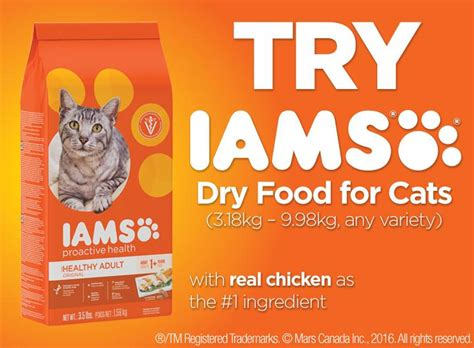 iams dog food coupons canada printable walmart canada coupons save 5 on iams dry cat food