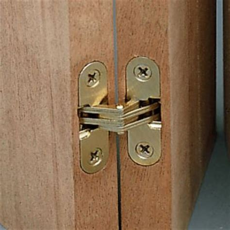 Invisible Door Hinges by Hinges Soss 218 Hinges Dull Brass Shopping Cart