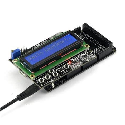 Lcd U2 sainsmart mega2560 r3 1602 lcd keypad shield kit for atmel atmega8u2 a sainsmart
