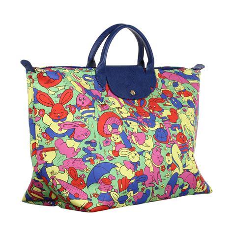 Tas Jerami longch quot humpty dumpty quot pliage travel bag in multicolor