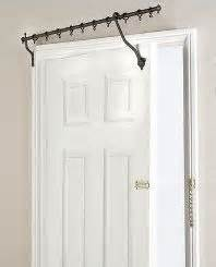 hinged curtain rods the door hinged curtain rod home decor ideas