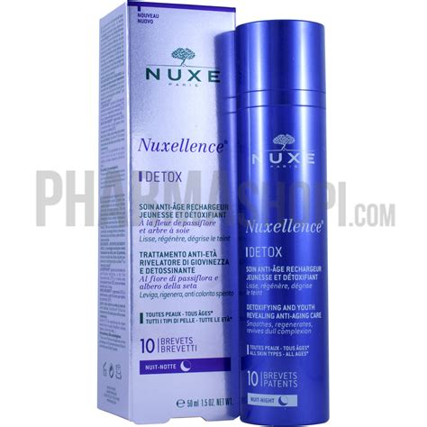 How To Use Nuxellence Detox by Nuxellence D 233 Tox Soin Anti 226 Ge Rechargeur Jeunesse Et