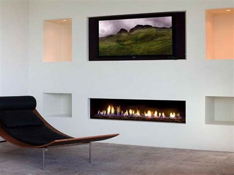 indoor modern fireplaces gas with white wall modern
