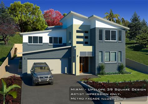 miami upslope 39 square design metro facade home design