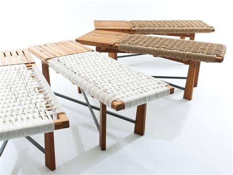 Modern Bench Design Clarkworks X Series Woven Bench