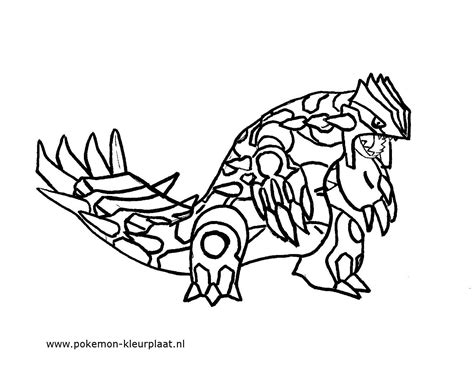 pokemon coloring pages groudon and kyogre primal groudon coloring page by jpijl on deviantart