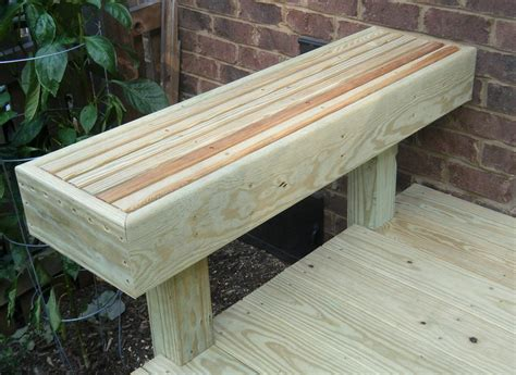 how to add a back to a bench bench deck railing bench plans how to build a bench on