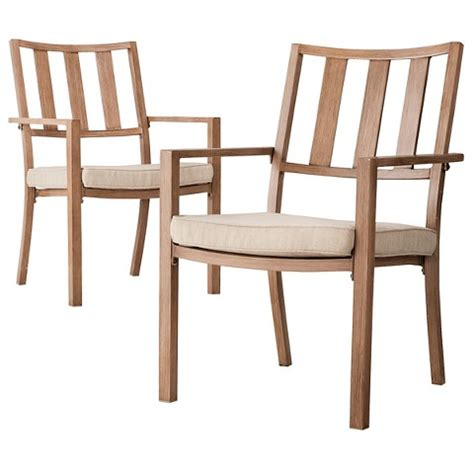 Threshold Patio Chairs Threshold Holden 2 Metal Patio Dining Cha Target