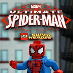 lego ultimate spider man juego  gratis misjuegos