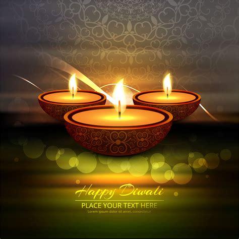 happy diwali diya oil lamp festival background