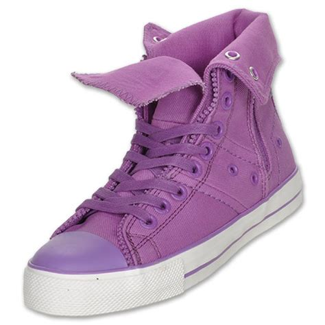levi s s zip ex hi ct twill sneakers in pink