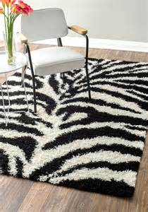 Zebra Striped Rugs Venice Zebra Print Rug Contemporary Rugs