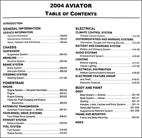 manual repair autos 2004 lincoln navigator free book repair manuals service manual 2004 lincoln aviator repair manual 2004 lincoln aviator original repair shop