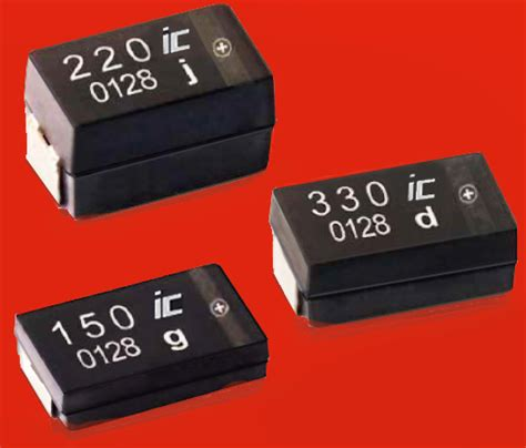 polymer capacitor voltage rating new smd solid conductive aluminium chip capacitors multilayer type for power energy storage