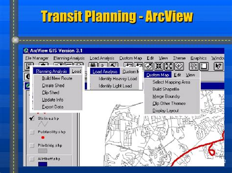 fairfax county virginia gis planning gis transit applications in fairfax county va