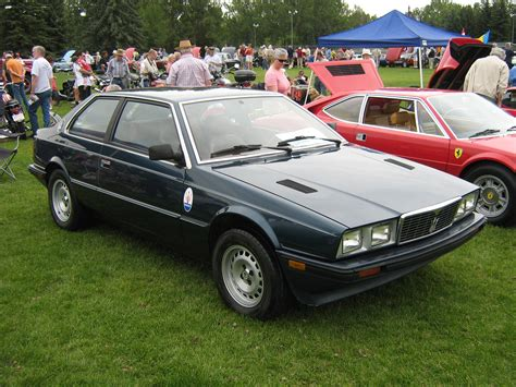 1984 Maserati Biturbo by Voitures Exotiques Ou Oubli 233 Es Discussions Hors Sujet