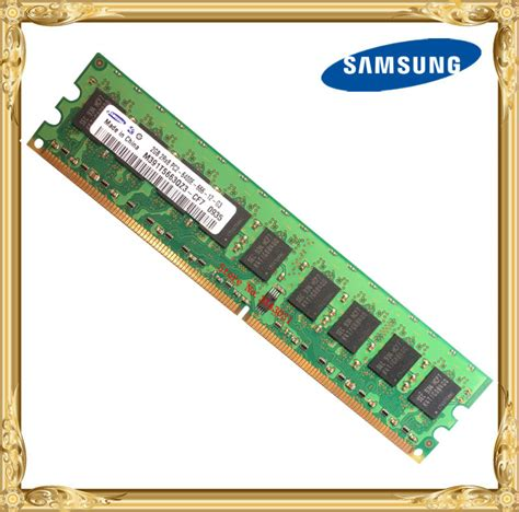Samsung Ram 2 samsung server memory ddr2 2gb ecc 800mhz pc2 6400e uimm ram 240pin 6400 2g 2rx8 in rams