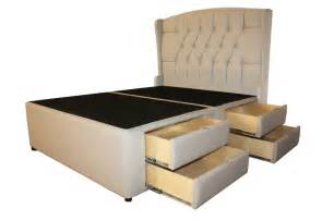 meridian tufted ii luxury bed 8 drawer lovely