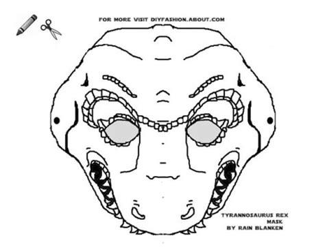 dinosaur mask coloring page dinosaur masks to print masking and preschool classroom