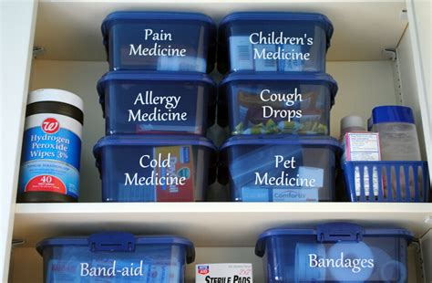 how to organize medicine home organization tips new kids center