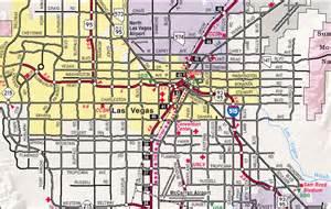 Las Vegas City Map by Map Of Las Vegas City Pictures