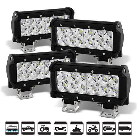 4x4 Led Light Bars 4x 6 Quot 36w Led Light Bar Spot Beam For Offroad Truck Suv Atv 4x4