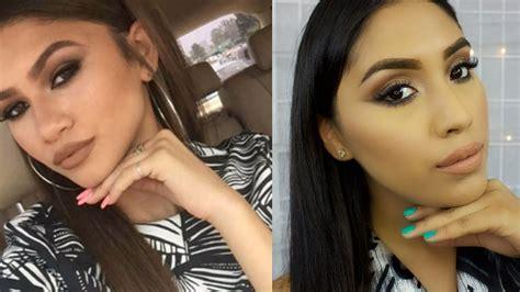 zendaya natural makeup tutorial maquillaje f 225 cil y natural sombra color caf 233 ahumado