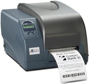 Postek Tx2 203 Dpi Tanpa Ribbon Label ch 4204s century hawk 4s thermal barcode printer with lcd display 203 dpi new
