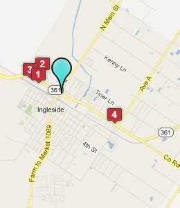 ingleside texas map ingleside texas hotels motels see all discounts
