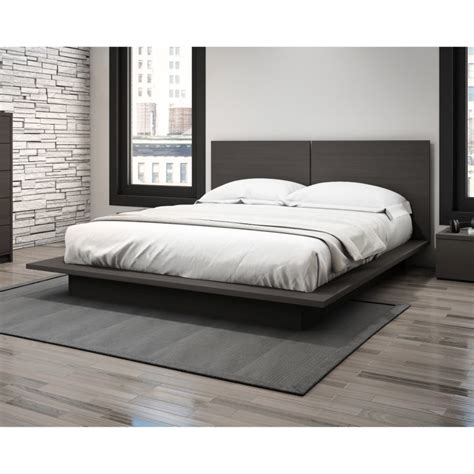 King Size Platform Bed Frame With Headboard Bedroom Cool Furniture Design With Platform Bed Frame Also Cheap Size Beds King