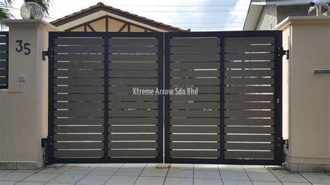 Modern Gate Design For House by Stainless Steel Gate Aluminium Auto Gate Gallery
