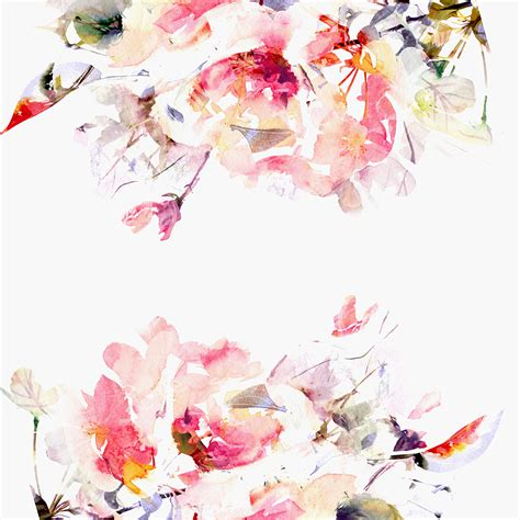 spring florals contemporary spring floral wallpaper project nursery
