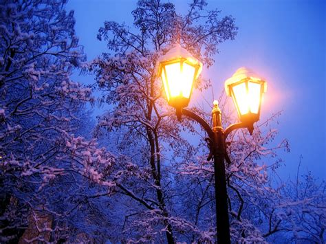 of the snows light city lights winter snow wallpaper are not