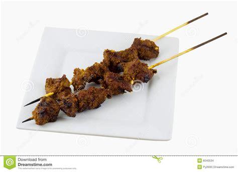 Lunch Animals Skewer satay skewer stock images image 6040534