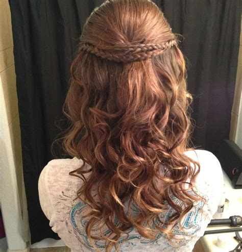 Hairstyles For School Dances by Easy Hairstyles For School Dances Hairstyles By
