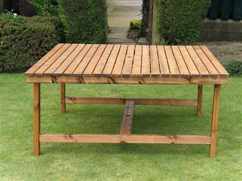 large  seat garden dining set square table  benches