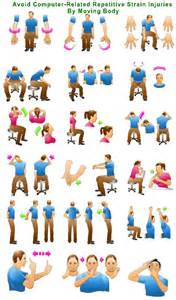 11 Best Office Desk Exercises Images On Pinterest Desk Stretches At The Office