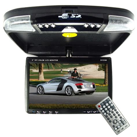 Tv Roof Plafon 9 Inch Murah wholesale car roof mounted multimedia dvd system with 9