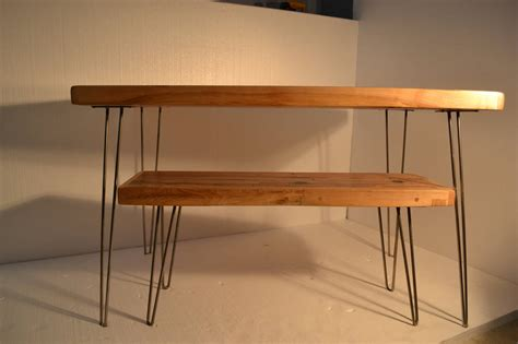 Small Dining Table Reclaimed Maple Hairpin Legs By Wicked Maple Table Legs