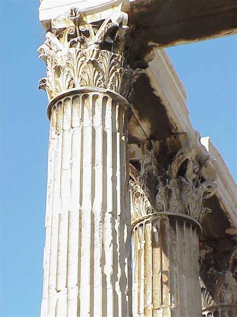 corinthian column temple of olympian zeus athens greece original inspiration for corinthian