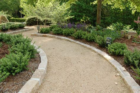 Landscape Edging For Gravel Path Landscape Design Pictures Raleigh Nc Landscaping Photo