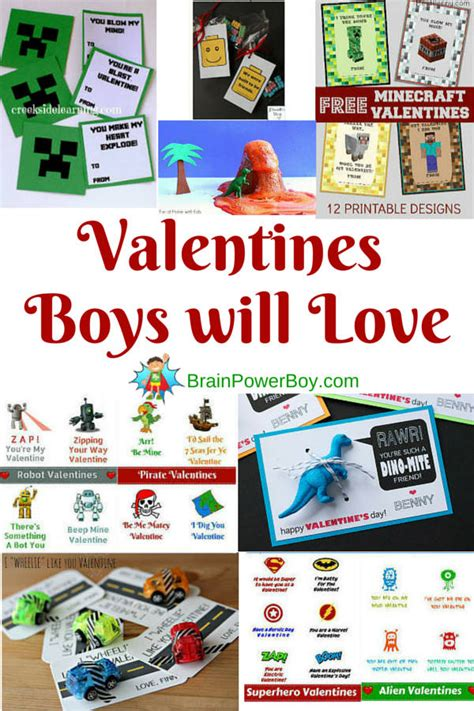 what do you give a boy for valentines day valentines for boys they will absolutely these