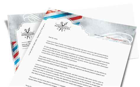 Home Office Design Layout Free by Letterhead Designs Business Letterhead Templates